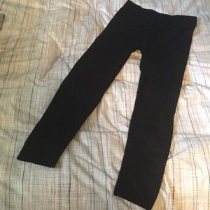 Pants - Fleece lined maternity leggings